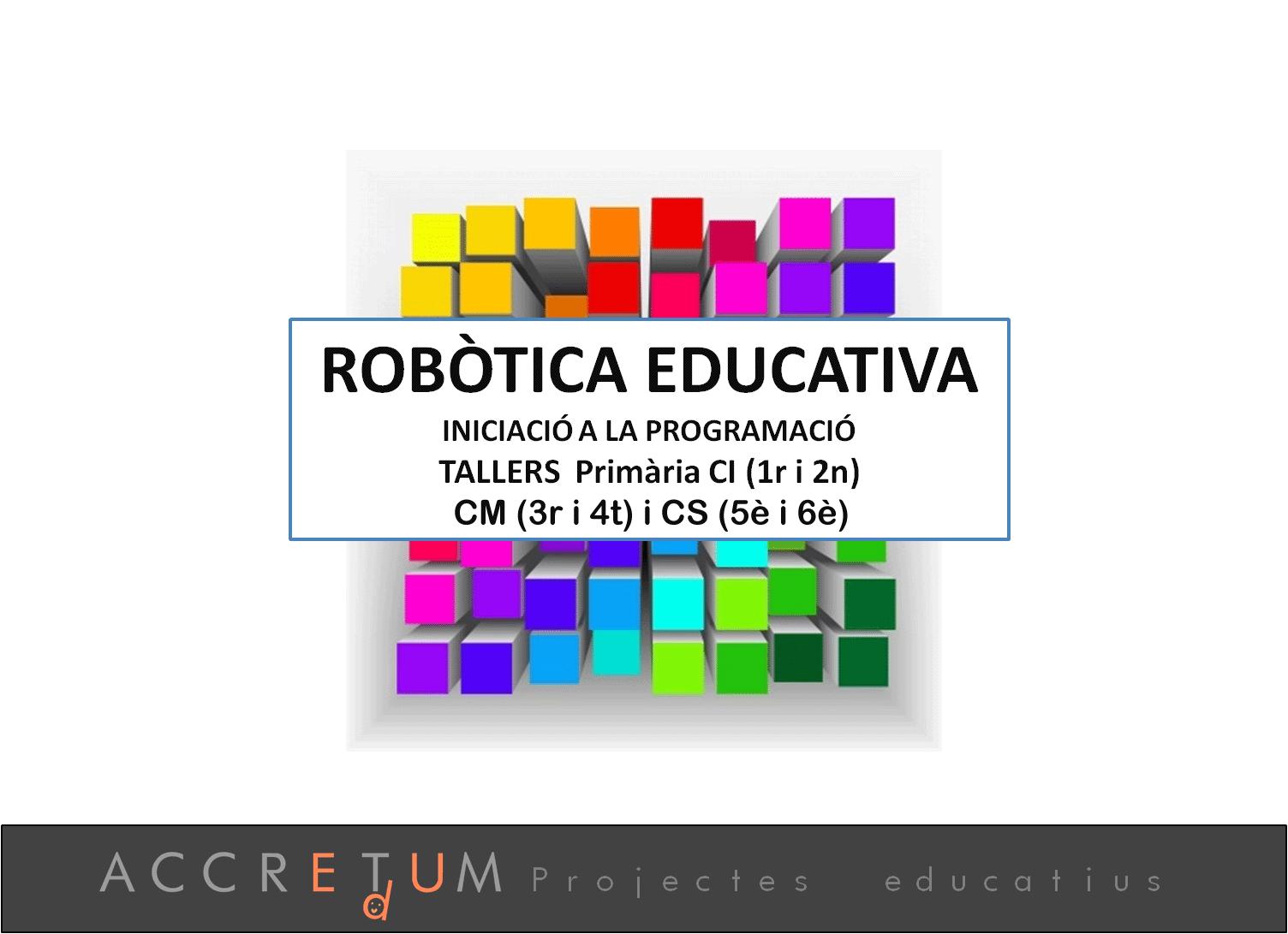 Robotica_Programacio_Accret